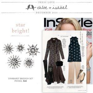 Chloe + Isabel Jewelry - 🆕 Starburst Brooch 5️⃣Set c+i P010SCL